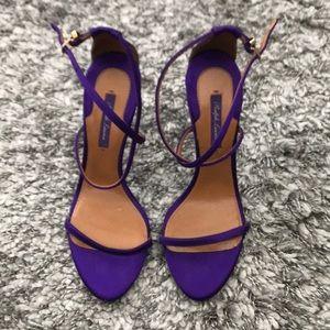 Ralph Lauren Purple Label Satin Sandals